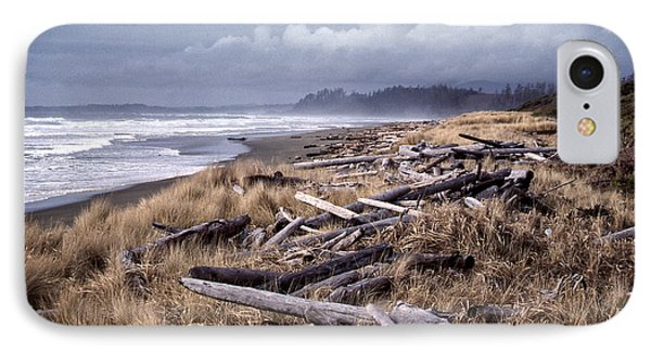 Beached Driftlogs IPhone Case by Richard Farrington