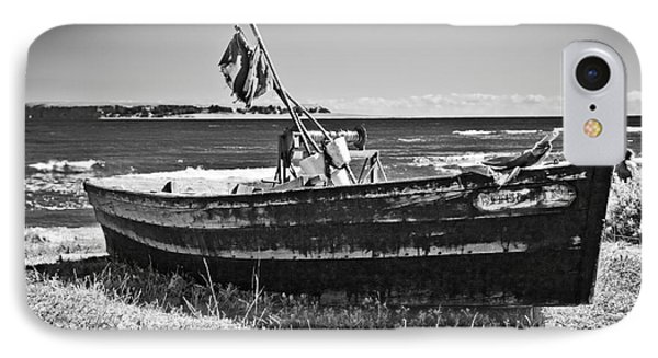 Beached Fishing Boat IPhone Case