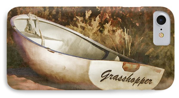 Beached Rowboat IPhone Case by Carol Leigh