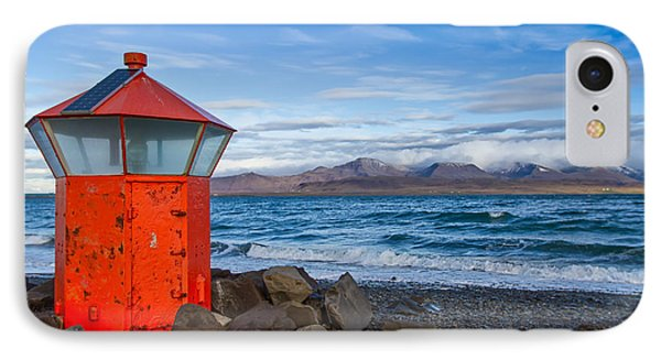 Beacon At Hvaleyrarviti In Iceland IPhone Case