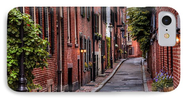 Beacon Hill Boston IPhone Case by Carol Japp