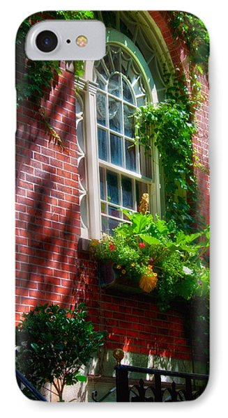 Beacon Hill Window Series IPhone Case by Joann Vitali