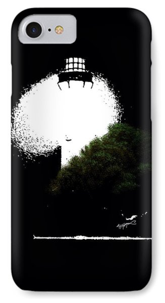 Beacon Of Light IPhone Case by Anthony Fishburne