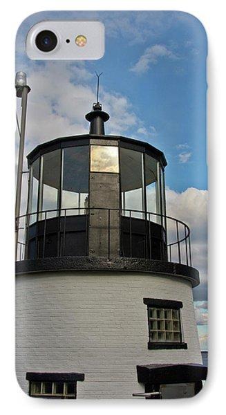 Beacon, Owl's Head Lighthouse, Owl's IPhone Case