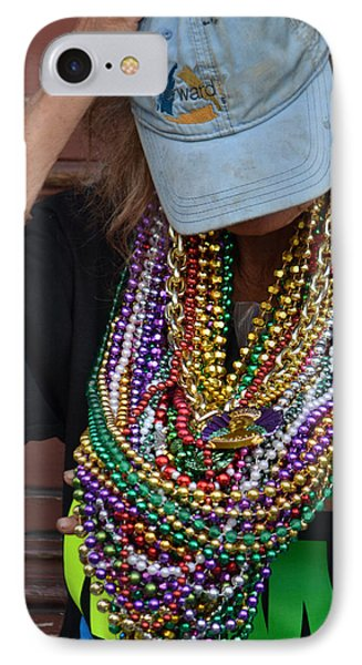 Bead Lady Of The Quarter IPhone Case by Nadalyn Larsen