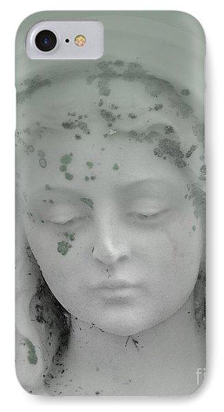 Beaded Angel Head Mint IPhone Case