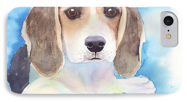 Beagle Baby IPhone Case by Greg and Linda Halom
