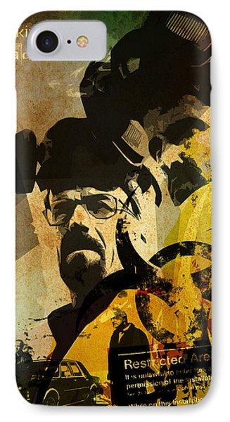 Breaking Bad Poster IPhone Case by Albert Lewis