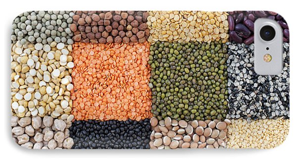 Beans And Pulses IPhone Case by Tim Gainey