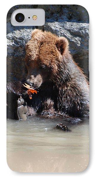 Bear Cub IPhone Case by DejaVu Designs