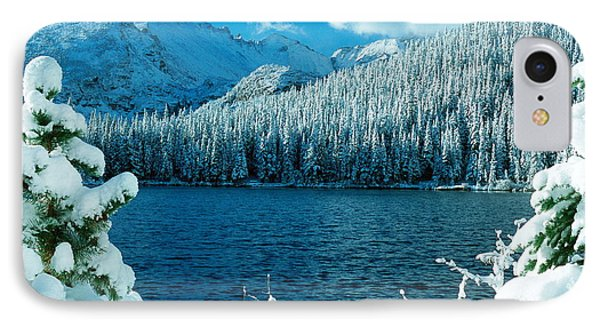 Bear Lake IPhone Case by Eric Glaser
