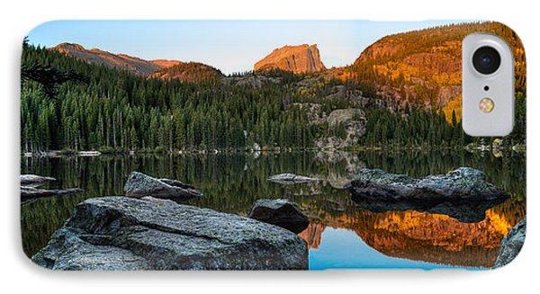 Bear Lake Rocky Mntn Natl Park Colorado IPhone Case by Steve Gadomski