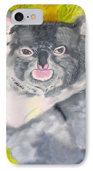 Koala Hug IPhone Case by Meryl Goudey