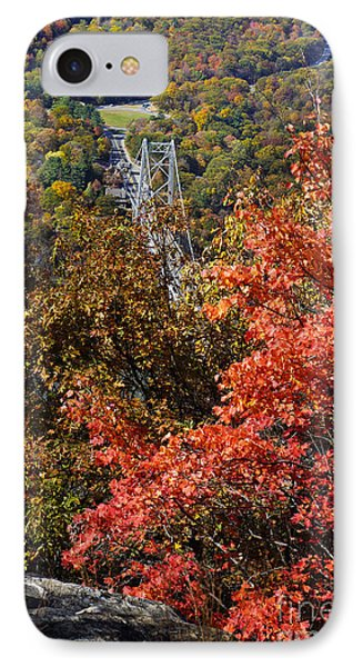 Bear Mountain Bridge IPhone Case by Rafael Quirindongo