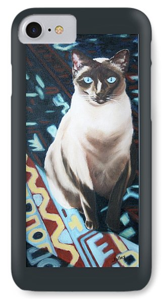 IPhone Case featuring the painting Bear by Nancy Jolley