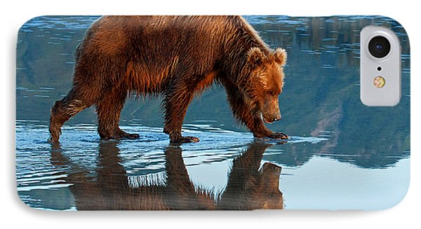 Bear Of A Reflection 8x10 IPhone Case