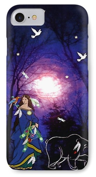 Bear Spirit IPhone Case by Mary Anne Ritchie