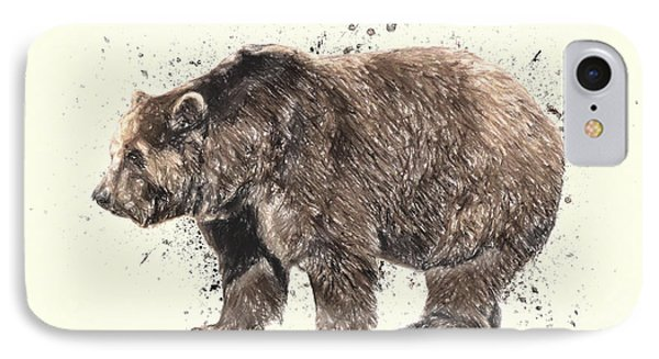 Bear Study IPhone Case