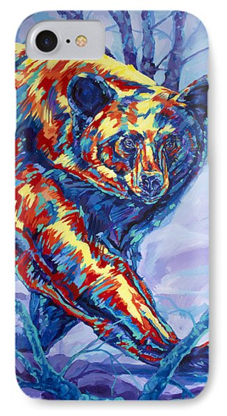 Bear Walk IPhone Case by Derrick Higgins