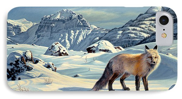 Beartooth Fox Phone Case by Paul Krapf