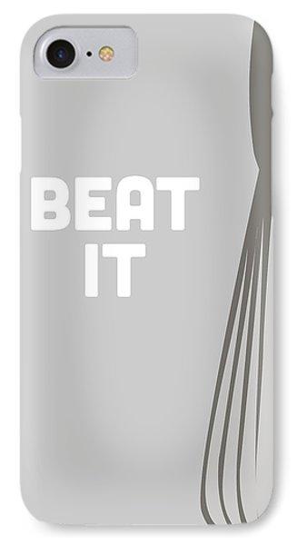 Beat It IPhone Case by Nancy Ingersoll