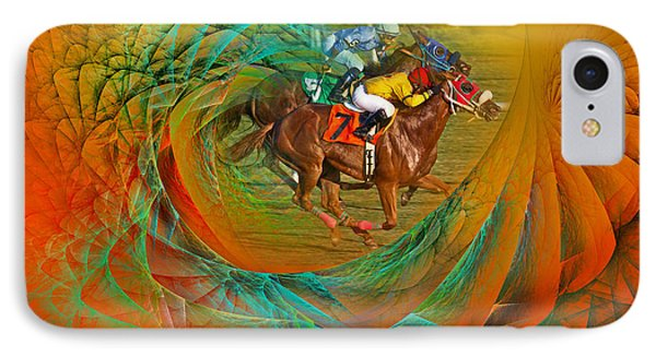 Beating The Equation  IPhone Case by Betsy Knapp