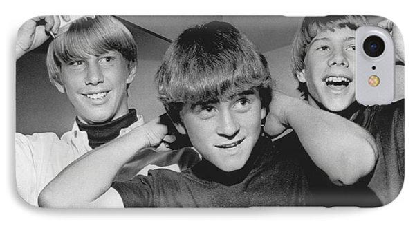 Beatle Haircuts Get Reprieve IPhone Case