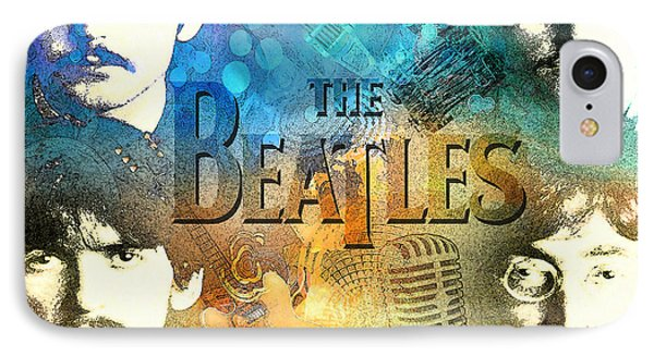 Beatle Montage IPhone Case by Greg Sharpe