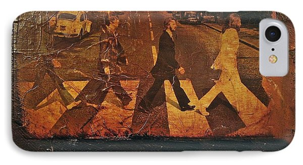 Beatles Revisited IPhone Case by Roland Byrne