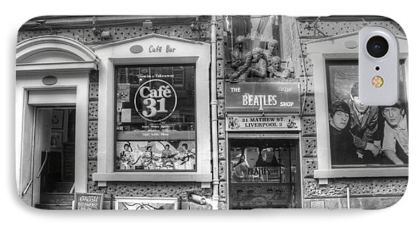 Beatles Shop IPhone Case by Frank Luxford