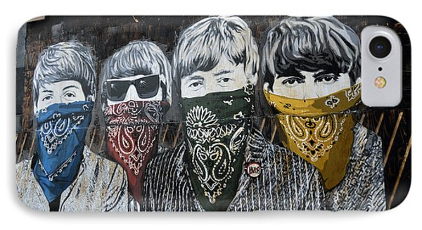 Beatles Street Mural Phone Case by RicardMN Photography