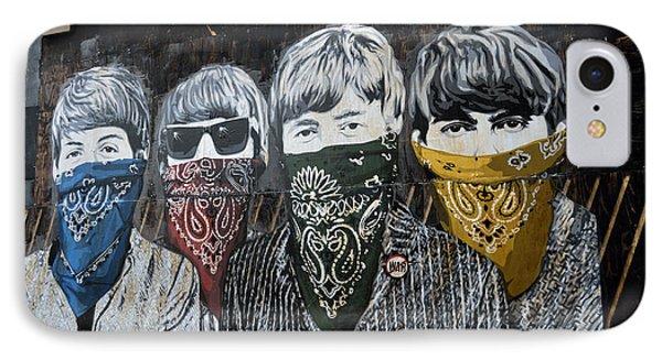 Beatles Street Mural IPhone Case