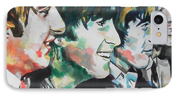 The Beatles 02 Phone Case by Chrisann Ellis