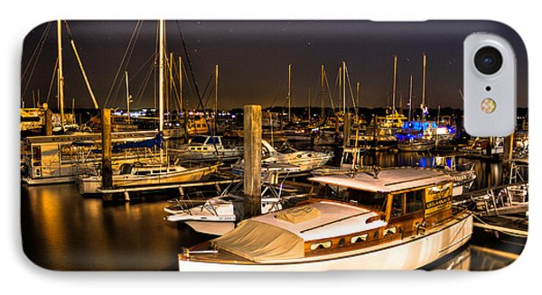 Beaufort Sc Night Harbor IPhone Case