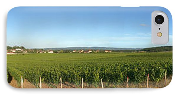 Beaujolais Vineyard, Jully-les-buxy IPhone Case by Panoramic Images