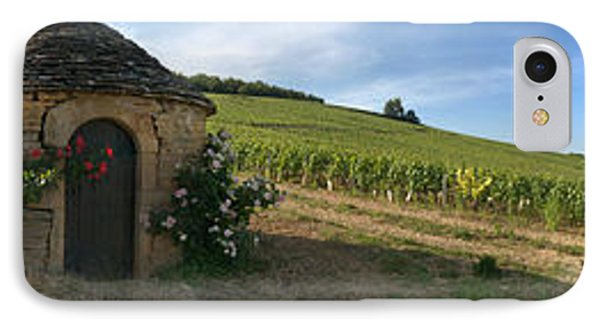 Beaujolais Vineyard, Saules IPhone Case by Panoramic Images