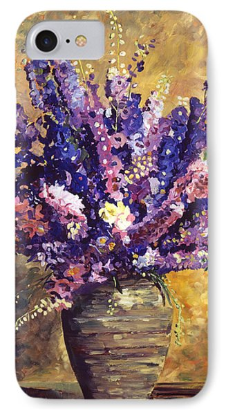 Beaujolais Bouquet IPhone Case by David Lloyd Glover