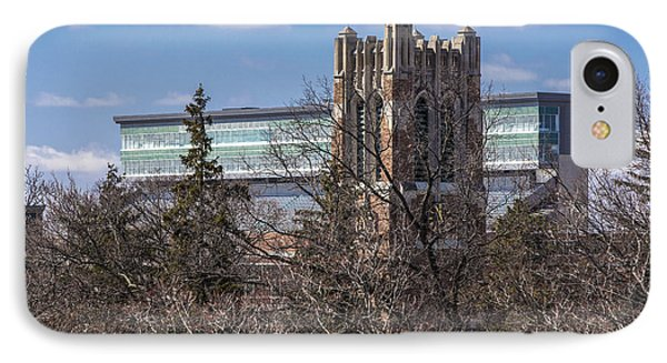 Beaumont Tower With Clouds Photograph By John Mcgraw