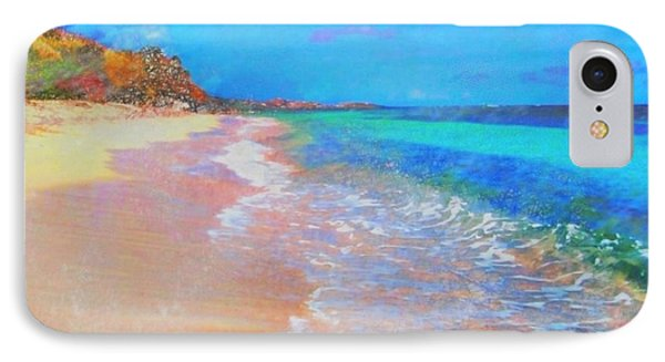 Beauregard Beach - Square IPhone Case by Lyn Voytershark
