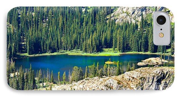 Beautiful Alpine Lake IPhone Case by Robert Bales