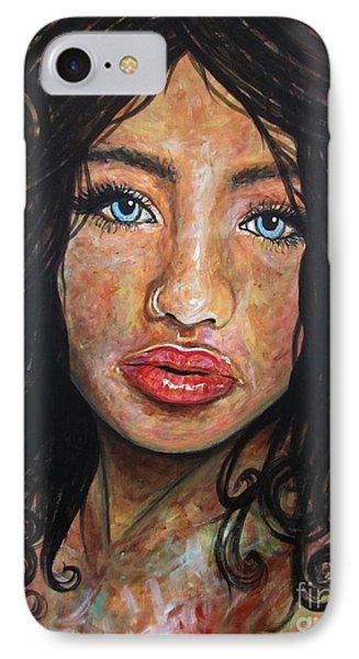 Beautiful Ambiguity Phone Case by Malinda  Prudhomme