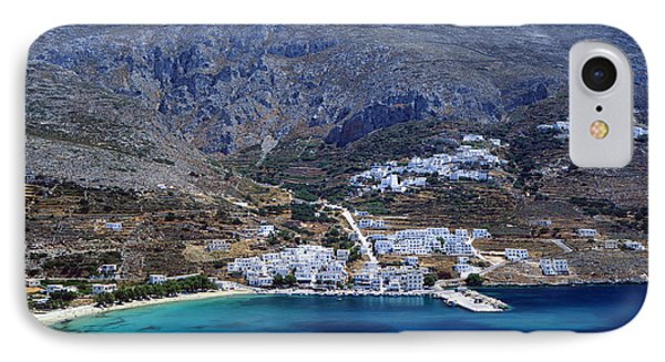 Beautiful Amorgos IPhone Case by Aiolos Greek Collections
