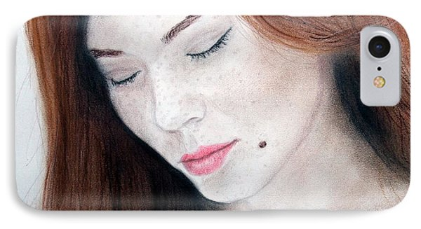 Beautiful And Sexy Actress Jeananne Goossen II IPhone Case by Jim Fitzpatrick