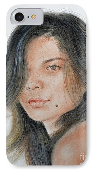 Beautiful And Sexy Actress Jeananne Goossen IIi  IPhone Case