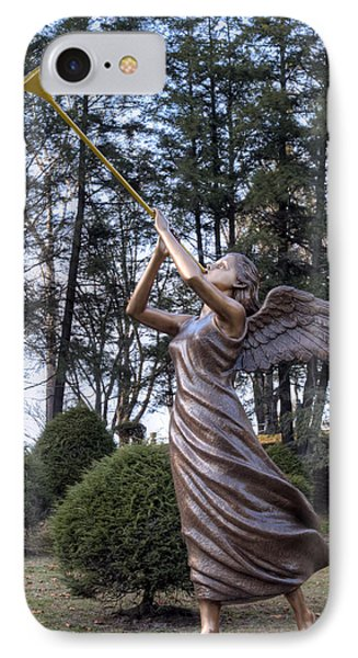 IPhone Case featuring the photograph Beautiful Angel by Gene Walls