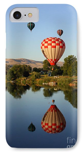 Beautiful Balloon Day IPhone Case by Carol Groenen