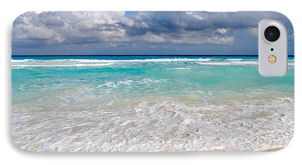 Beautiful Beach Ocean In Cancun Mexico IPhone Case
