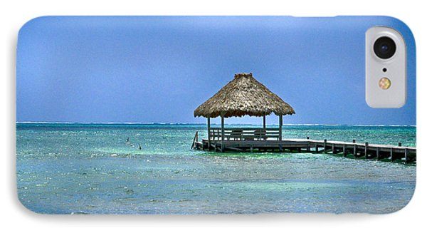 Beautiful Belize Phone Case by Kristina Deane