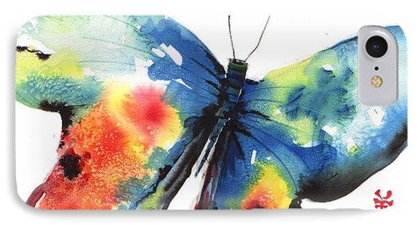 Beautiful Butterfly Phone Case by John Dunn
