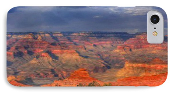 IPhone Case featuring the painting Beautiful Canyon by Bruce Nutting